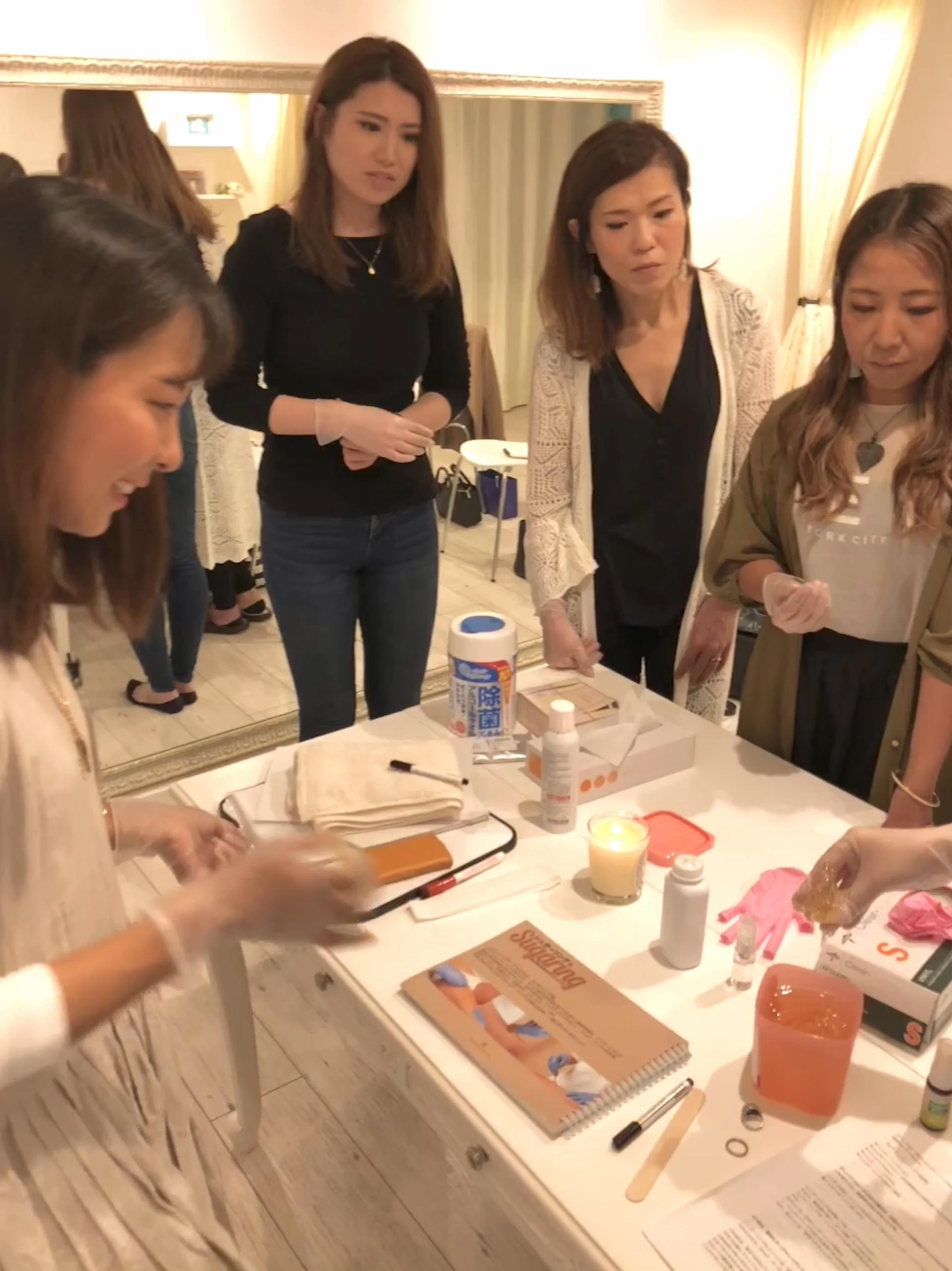 日本シュガーリング協会の無料入門クラス